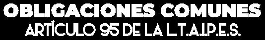 Banner de obligaciones comúnes de transparencia
