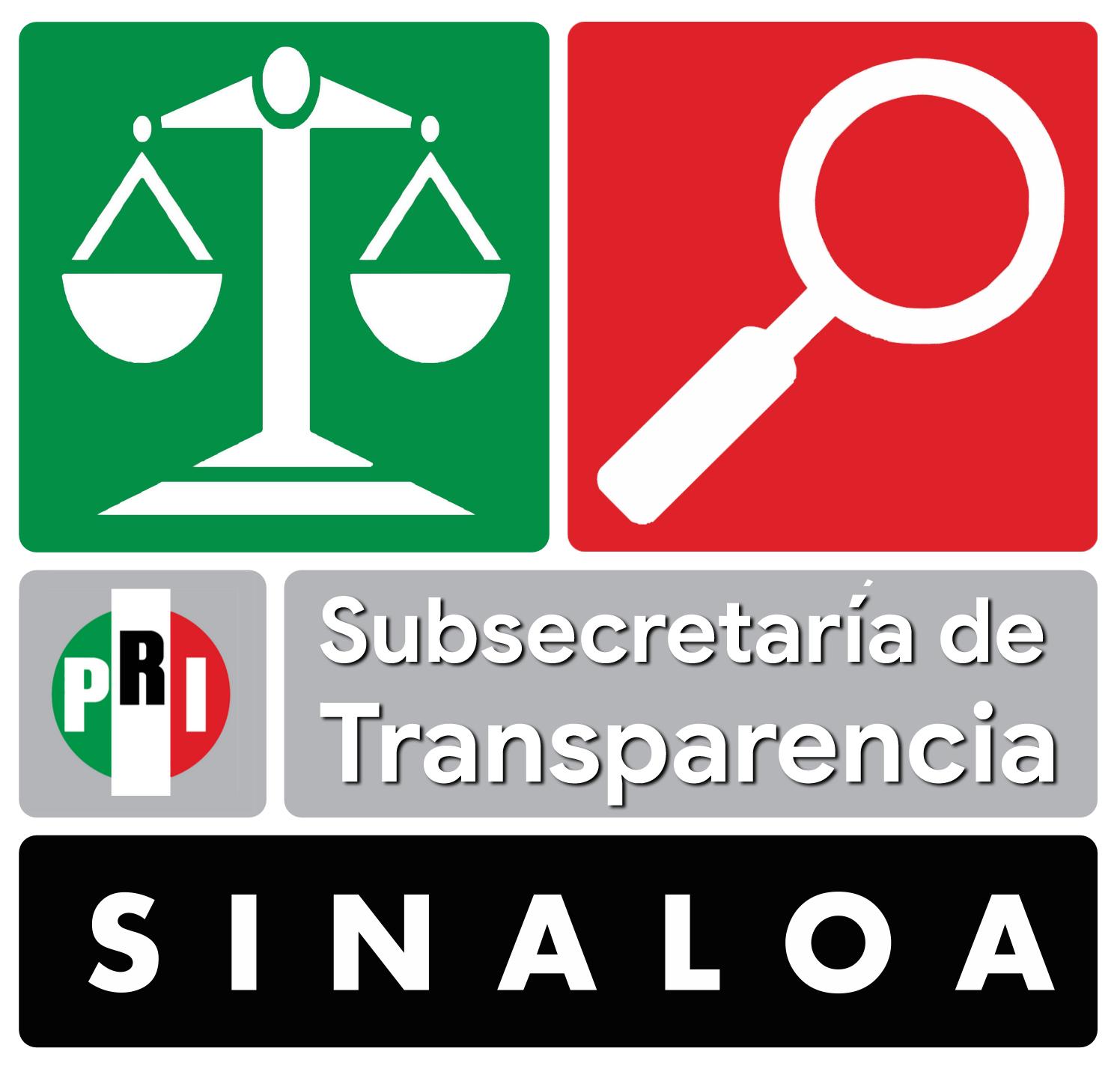 Emblema de la Subsecretaría de Transparencia