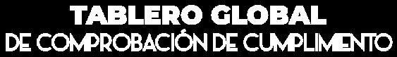 Banner de Tablero global de comprobación de cumplimiento